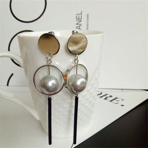 New fashion design restoring ancient ways of pearl earrings
