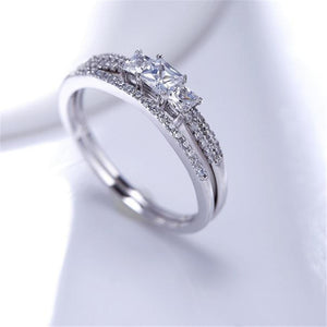 2018 Excellent Bezel Setting Certified S925 Sterling Silver Ring.