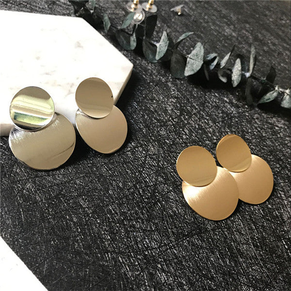 New 2018 Gold & Silver Fashion Earring