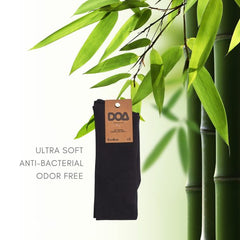 doa comfort cuff bamboo socks - for women