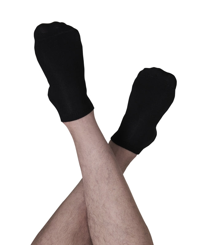 doa 3 Pairs Super Soft Bamboo No Show Ankle Socks for Men