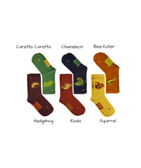 WWF by DOA Smart BOX Set - Organic Cotton Crew Socks (5-pair)