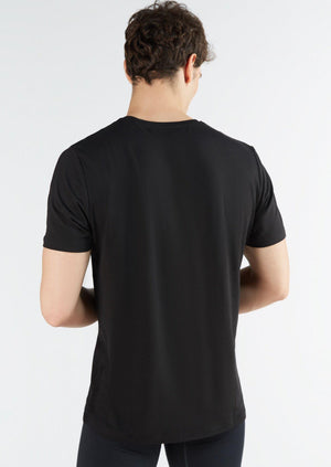 Men's Organic Cotton Short-Sleeve Basic T-shirt