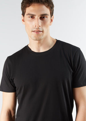 Men's TENCEL Modal Short-Sleeve Basic T-shirt 3-Pack