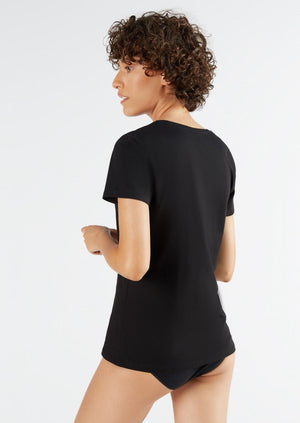 Women's TENCEL Modal Short-Sleeve Basic T-shirt
