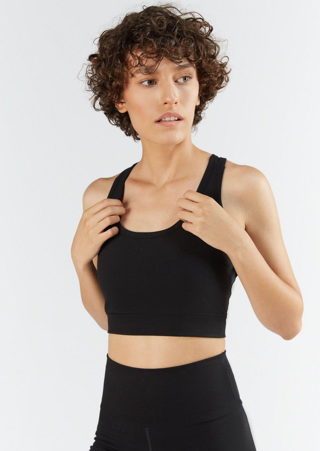 Organic Cotton Sports Bra