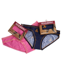 2-pack Rich&Vibrant Organic Bikini Briefs Smart BOX Set