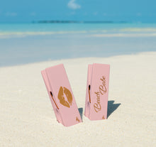 Load image into Gallery viewer, Beach Babe Lips Towel Clips