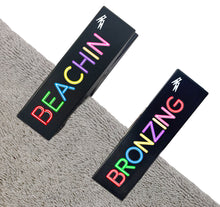 Load image into Gallery viewer, Beachin Bronzing Towel Clips