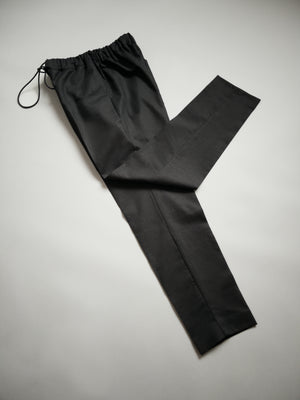 LINEN TROUSERS WITH ADJUSTABLE DRAWSTRING