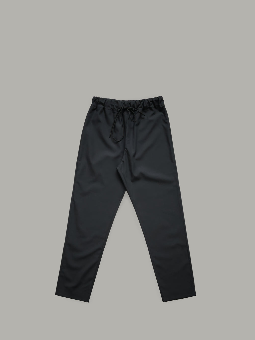 LIGHTWEIGHT COTTON TROUSERS WITH ADJUSTABLE DRAWSTRING