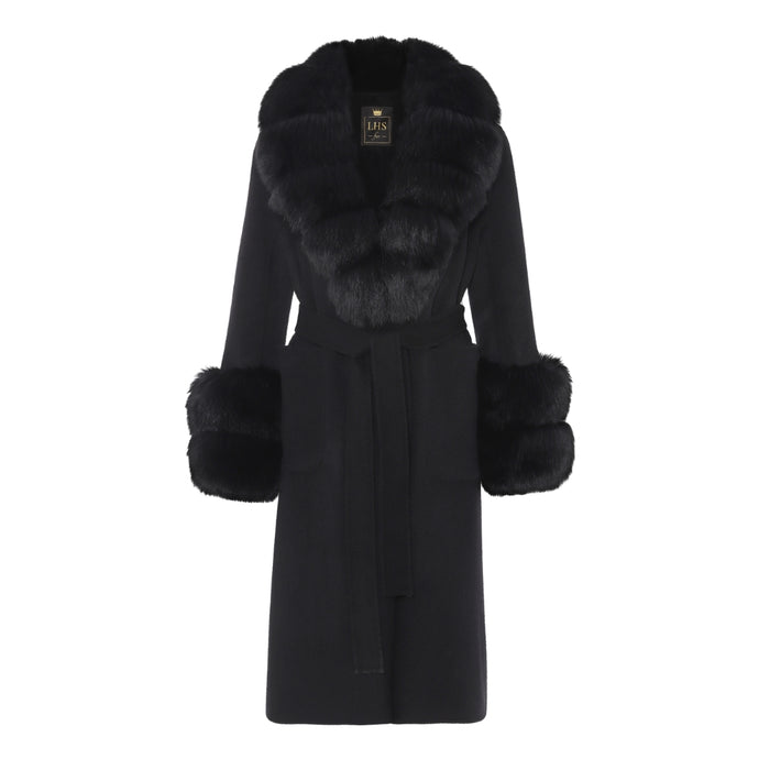 CASHMERE COAT // BLACK