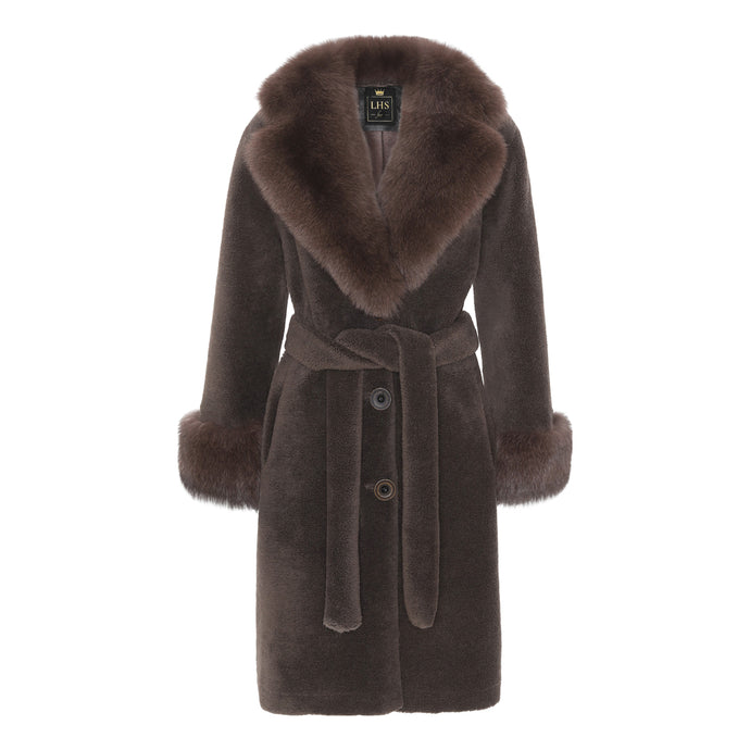 COCO COAT // BROWN