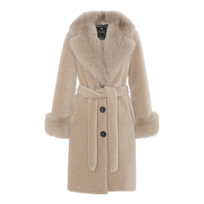 COCO COAT // LIGHT BEIGE