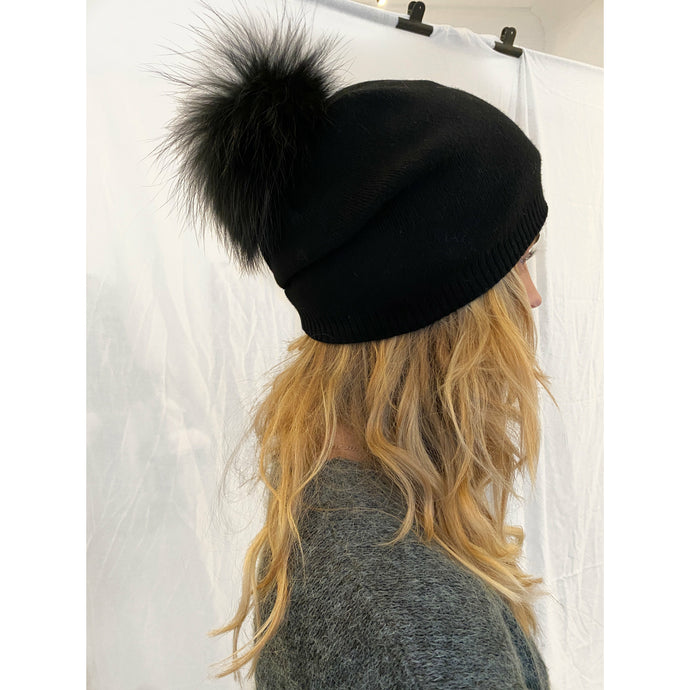 FUR HAT // BLACK