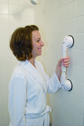 Tile Grip Portable Suction Grab Bar