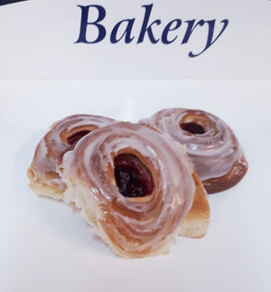 Load image into Gallery viewer, Black Cherry Danish Pastry