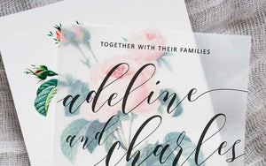 Our Favorite Wedding Paper Trends of 2018 - 2019