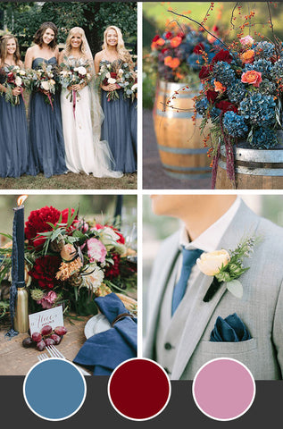 10-Fall-Wedding-Colors_Dusty-Blue-Burgundy-Pale-Pink