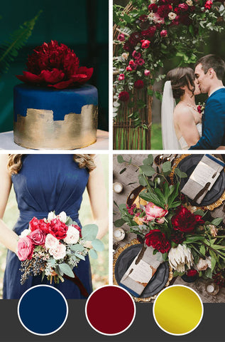 10-Fall-Wedding-Colors_Navy-Burgundy-Gold