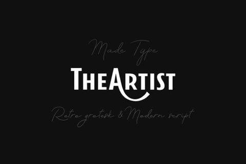 The Artist-Sans-Retro-Font