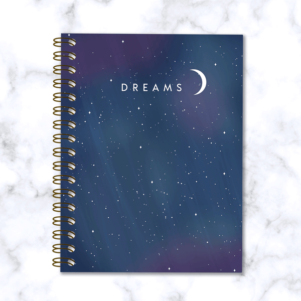 Dreams-Spiral-Notebook-Starry-Night-Sky-Design-Front-Cover