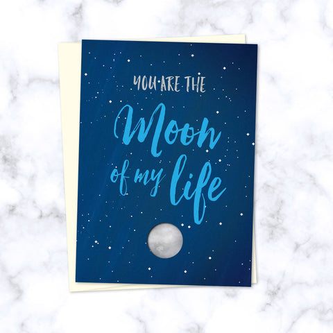 Moon of My Life, My Sun & Stars Greeting Card