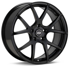 Enkei M52 16x7 38mm Offset 5x100 72.6mm Bore Matte Black Wheel
