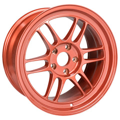 Enkei RPF1 17x9 35mm Offset 5x114.3 73mm Bore Orange Wheel