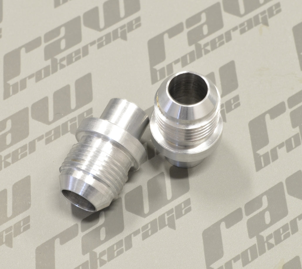 Nubis -10AN Valve Cover Press-In Fittings (Pair) - RB20 RB25 (S1)
