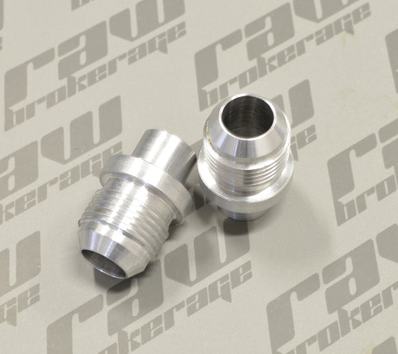 Nubis -10AN Valve Cover Press-In Fittings (Pair) - RB25 (S2) & NEO
