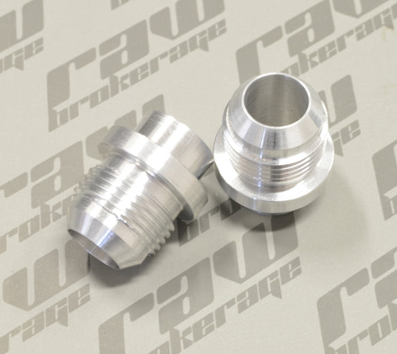 Nubis -12AN Valve Cover Press-In Fittings (Pair) - RB26