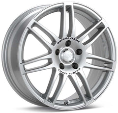 Enkei SC05 18x8 35mm Offset 5x100 75mm Bore Silver Wheel