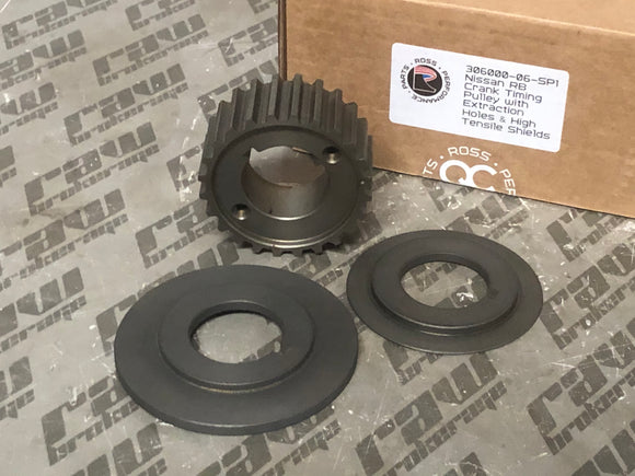 Ross Tuffbond Crankshaft Timing Gear with Shields for Nissan RB20 RB25 RB26 RB30