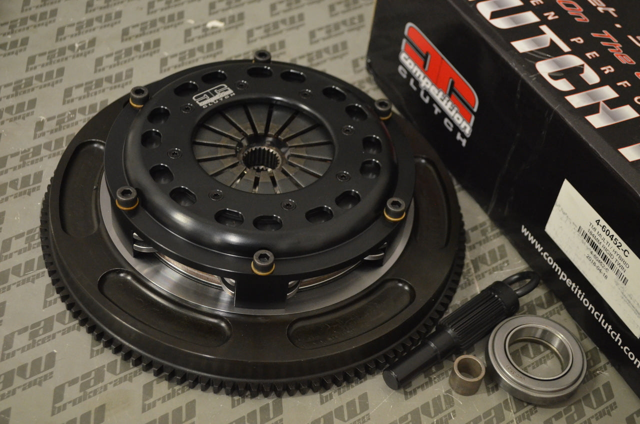 Comp Clutch RB25 RB26 (w/ Push Style Clutch) Twin Disc Ceramic Clutch Kit