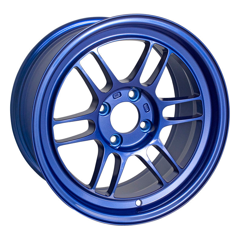 Enkei RPF1 18x9.5 38mm Offset 5x114.3 73mm Bore Victory Blue Wheel