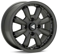 Enkei Compe 15x5.5 17mm Offset 4x130 87mm Bore Matte Gunmetal Wheel