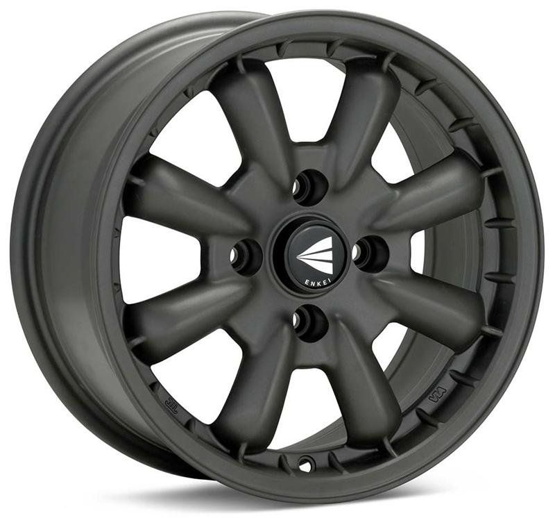 Enkei Compe 15x7 0mm Offset 4x114.3 72.6mm Bore Matte Gunmetal Wheel