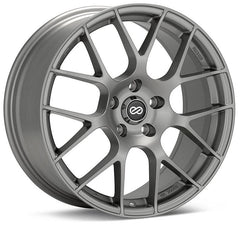 Enkei Raijin 18x8 42mm Offset 5x120 72.6mm Bore Gunmetal Wheel