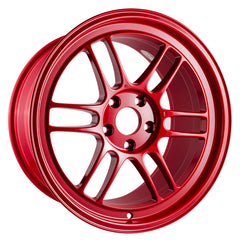 Enkei RPF1 18x9.5 38mm Offset 5x114.3 73mm Bore Competition Red Wheel