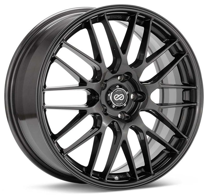 Enkei EKM3 17x7 45mm Offset 5x114.3 72.6mm Bore Gunmetal Wheel