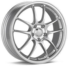Enkei PF01 15x7 41mm Offset 4x100 75mm Bore Silver Wheel