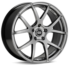 Enkei M52 18x8 50mm Offset 5x114.3 72.6mm Bore Hyper Black Wheel