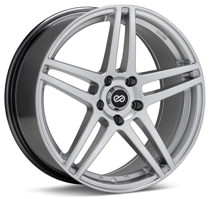 Enkei RSF5 17x7.5 40mm Offset 5x114.3 72.6mm Bore Hyper Silver Wheel