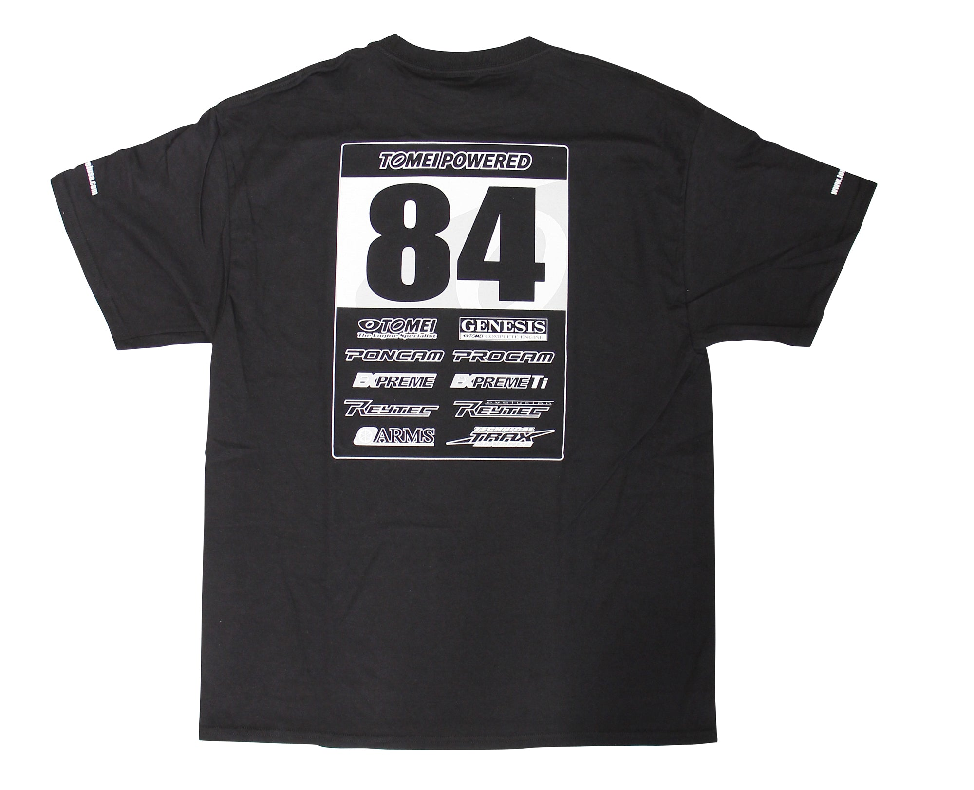 Tomei T-SHIRT TOMEI #84 2011  BLACK  3XL