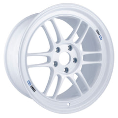 Enkei RPF1 17x9 22mm Offset 5x114.3 73mm Bore Vanquish White Wheel