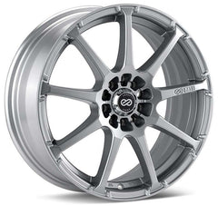Enkei EDR9 17x7 38mm Offset 4x100/114.3 72.6mm Bore Silver Wheel