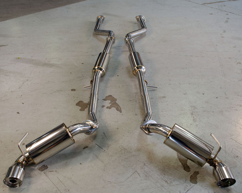 Agency Power Catback Exhaust Stainless Tips - Nissan 370Z (Z34)