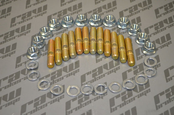 Nubis Exhaust Manifold Stud and Nut Kit - RB20 RB25