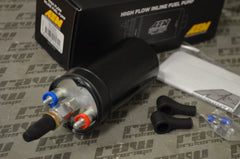 AEM 400LPH High Pressure Inline Fuel Pump - M18x1.5 Female Inlet to M12x1.5 Male Outlet